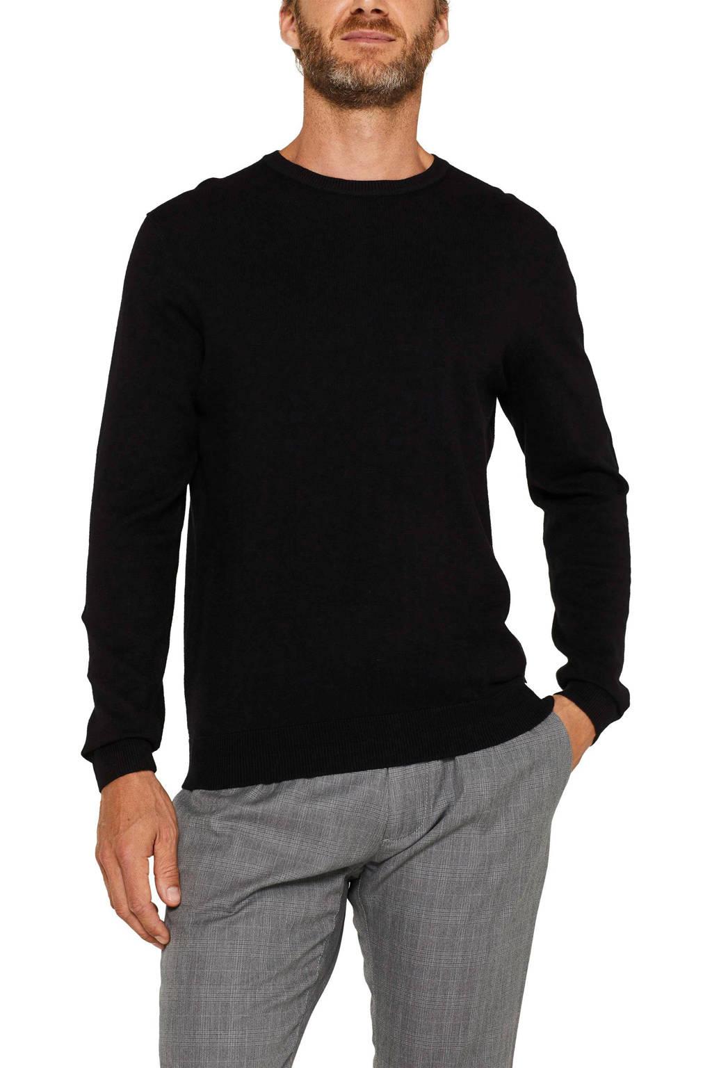 ESPRIT Men Casual trui zwart, Zwart