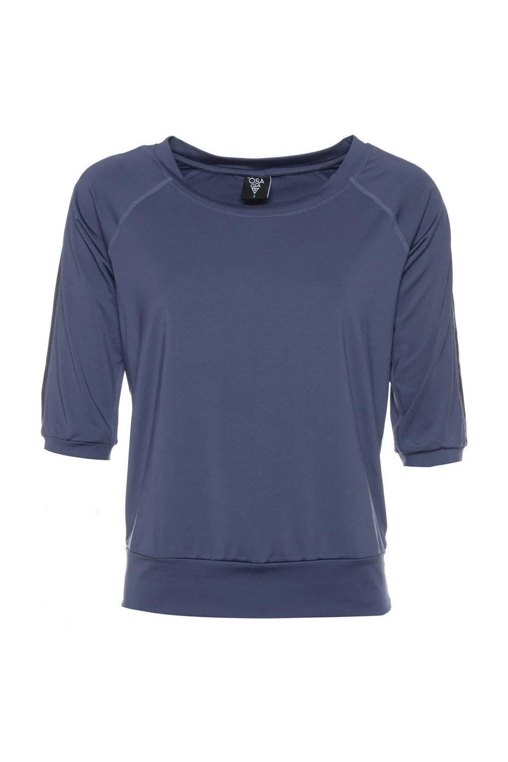 Scapino Osaga sport T-shirt blauw, Blauw