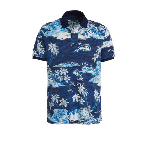 POLO Ralph Lauren slim fit polo met all over print