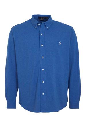 +size regular fit overhemd blauw