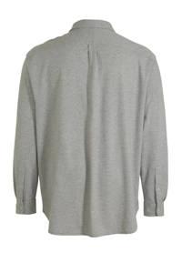 POLO Ralph Lauren Big & Tall +size regular fit overhemd, Grijs
