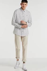 GABBIANO slim fit overhemd wit, Wit