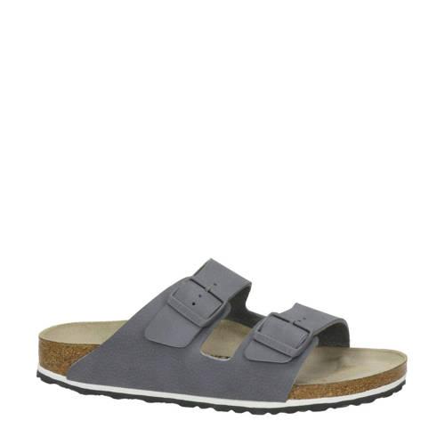 Birkenstock Arizona slippers grijsblauw