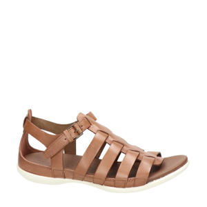 Flash  leren sandalen cognac