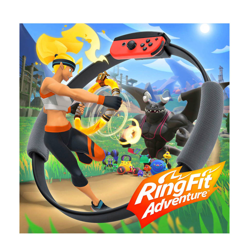 Ring Fit Adventure Nintendo Switch (Nintendo Switch), -