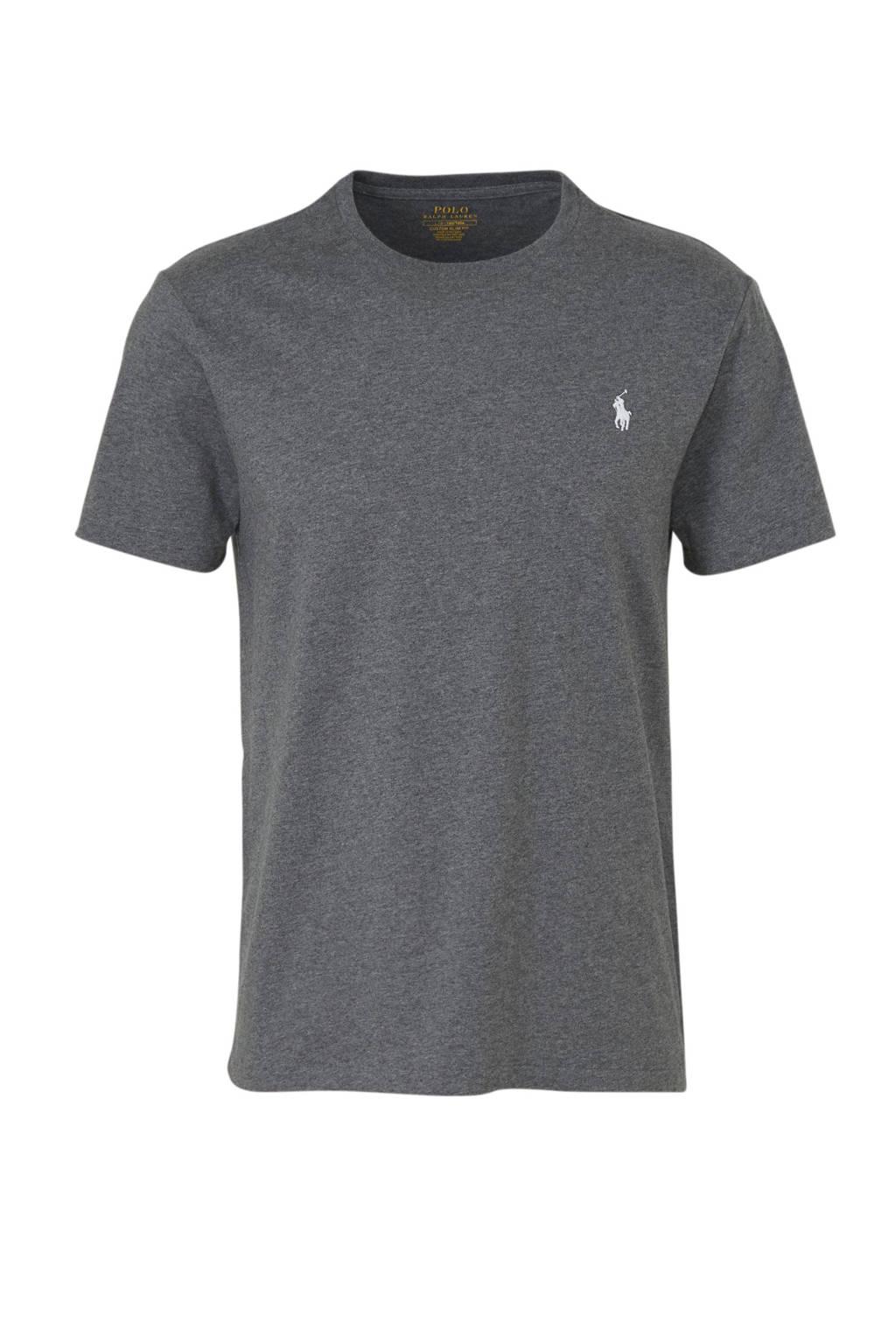 POLO Ralph Lauren T-shirt met logo kaki, Kaki