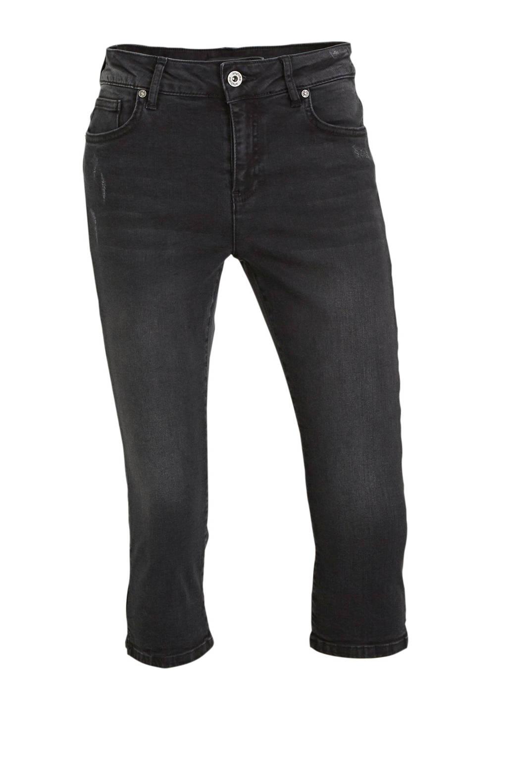 anytime jeans-capri used black, Used black