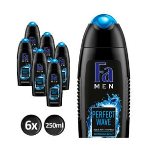 Men Perfect Wave douchegel - 6x 250ml multiverpakking