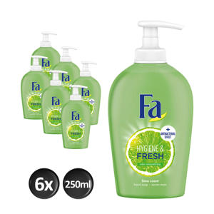 Liquid Soap Hygiene&Fresh - 6x 250ml multiverpakking