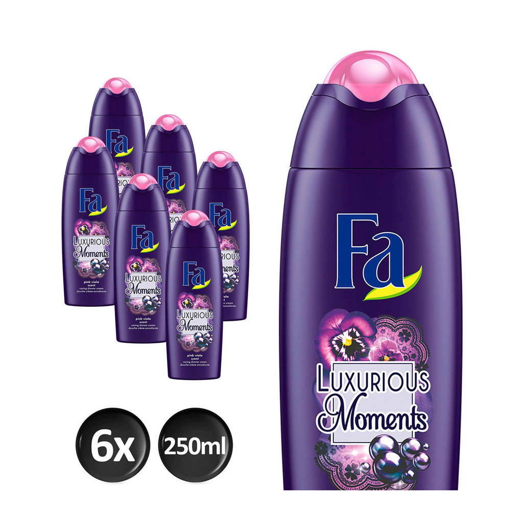 FA Luxurious Moments douchegel - 6x 250ml multiverpakking