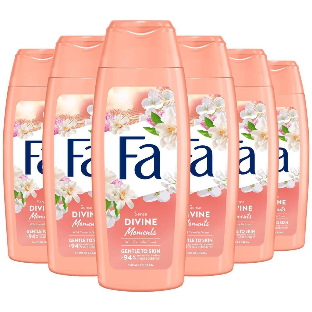 FA Divine Moments douchegel - 6x 250ml multiverpakking
