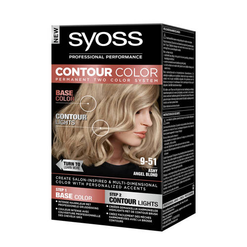 Syoss Contour Color haarkleuring - 9-51 Ashy Angel