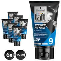 Schwarzkopf Taft Styling Power Active gel - 6x 150ml multiverpakking