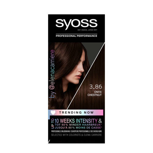 Syoss Color Trending Now haarkleuring - 3-86O Ches