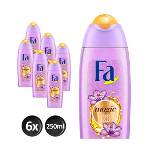 Magic Oil Purple Orchid douchegel - 6x 250ml multiverpakking