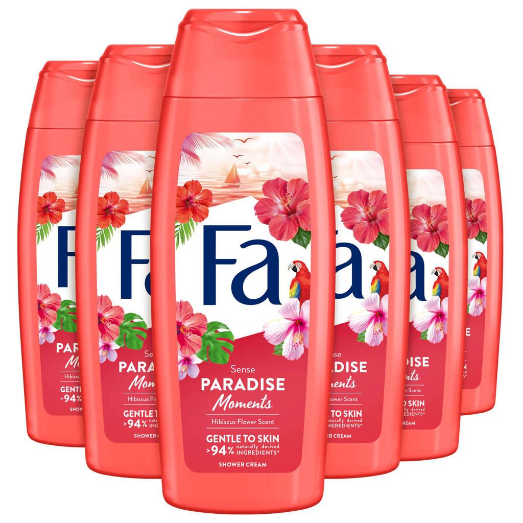 FA Paradise Moments douchegel - 6x 250ml multiverpakking