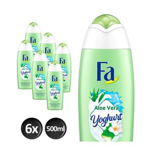 Bad Yoghurt Aloe Vera badschuim - 6x 500ml multiverpakking