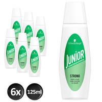 Schwarzkopf Junior Haarversteviger Strong -  6x 125 ml multiverpakking