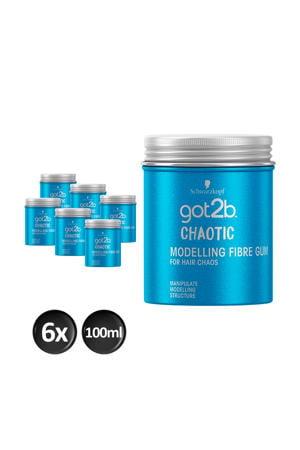 Chaotic Fibre Gum - 6x 100ml multiverpakking