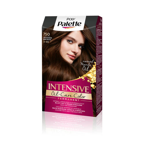 Poly Palette Intensieve Cremekleuring 750 Chocoladebruin Stuk