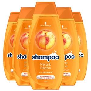 Perzik shampoo - 5x 400ml multiverpakking