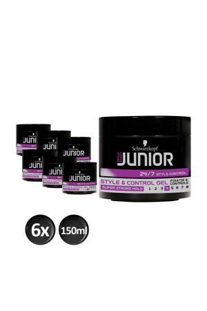 Style & Control L4 gel - 6x 150ml multiverpakking