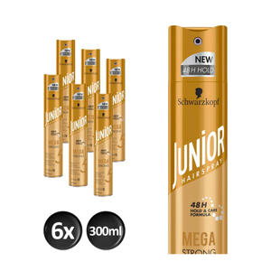 Hairspray Mega Strong - 6x 300 ml multiverpakking