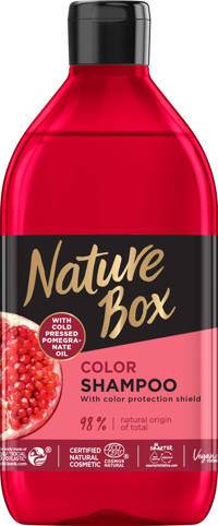Nature Box Pomegranate shampoo - 385 ml