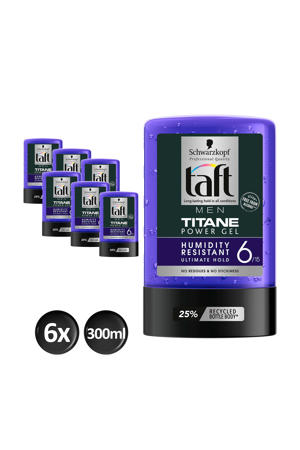 Styling Power Gel Titane tottle - 6x 300ml multiverpakking
