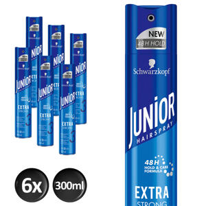 Hairspray Extra Strong - 6x 300 ml multiverpakking