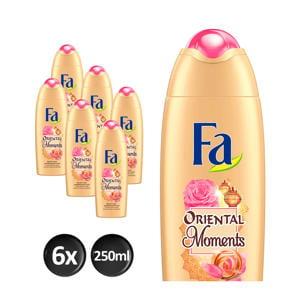 Oriental Moments douchegel - 6x 250ml multiverpakking