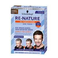 Schwarzkopf Re-Nature Cream Men - Medium Dark, Medium Dark Men