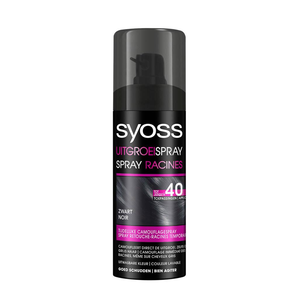 Syoss Uitgroeispray - Zwart