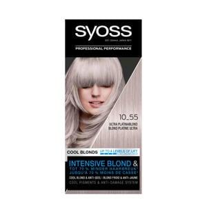 Color Blond haarkleuring - 10-55 Ultra Platinum Blond