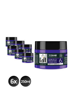 Styling Power Gel Titane cube - 6x 250ml multiverpakking