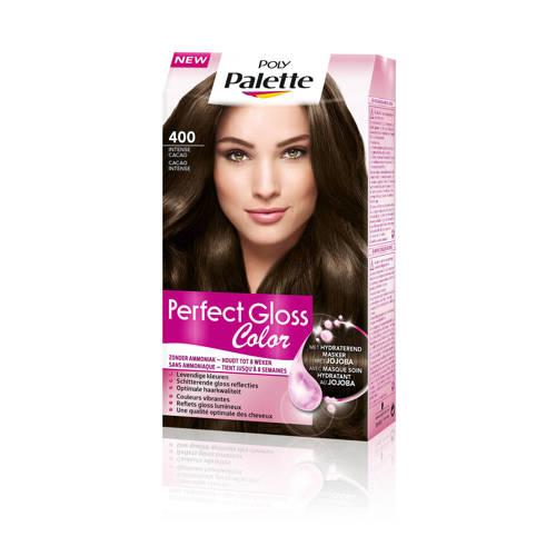 Schwarzkopf Poly Palette Perfect Gloss haarkleuring - 400 Intense Cacao