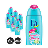 FA Sumertime Moments douchegel - 6x 250ml multiverpakking