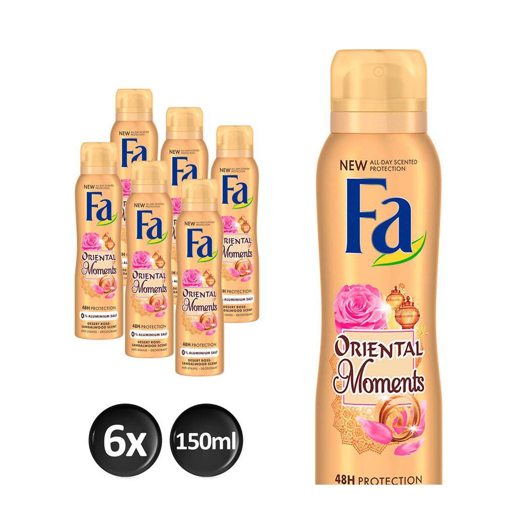 FA Deospray Oriental Moments - 6x 150ml multiverpakking