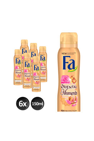 Deospray Oriental Moments - 6x 150ml multiverpakking