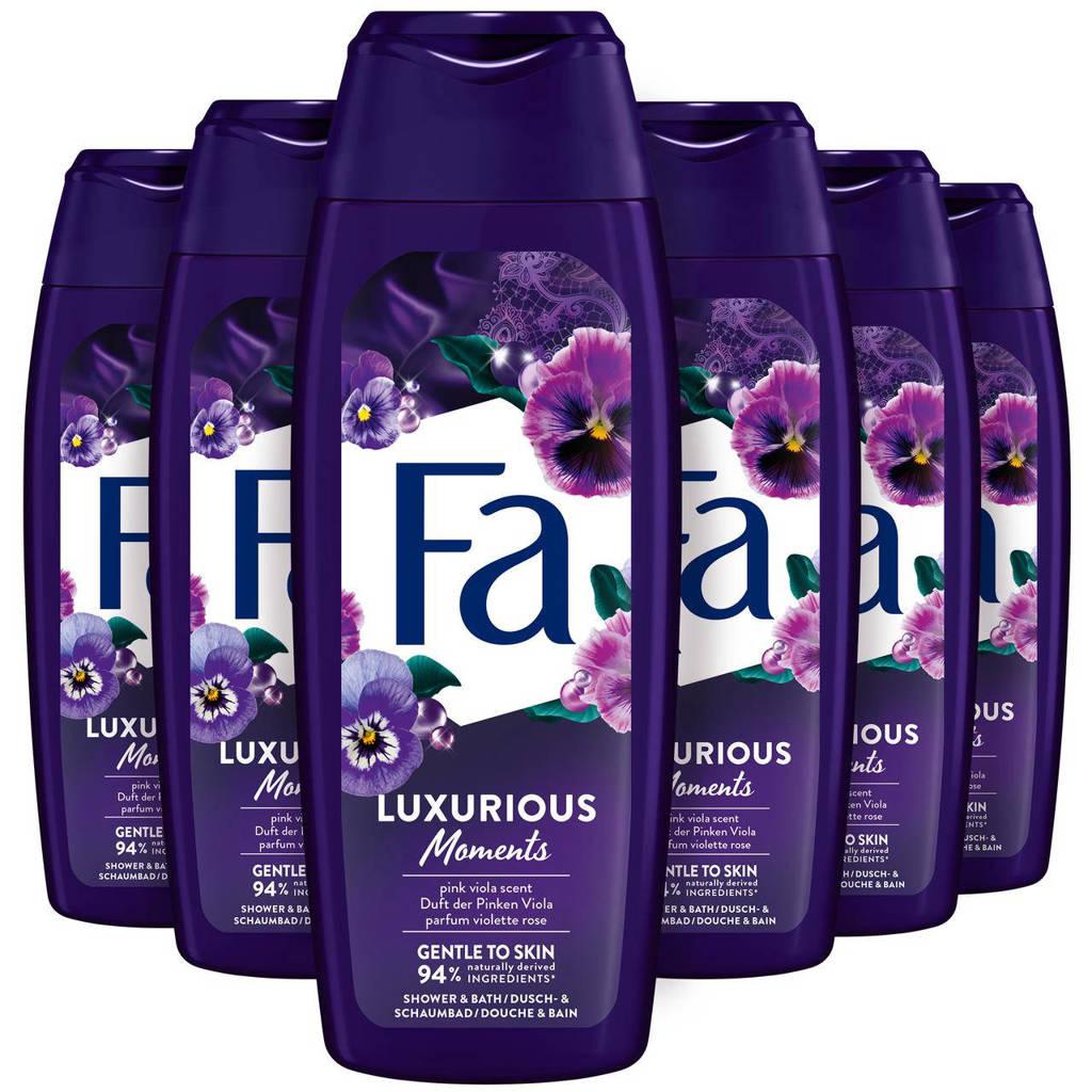 FA Luxurious Moments  badschuim - 6x 500ml multiverpakking