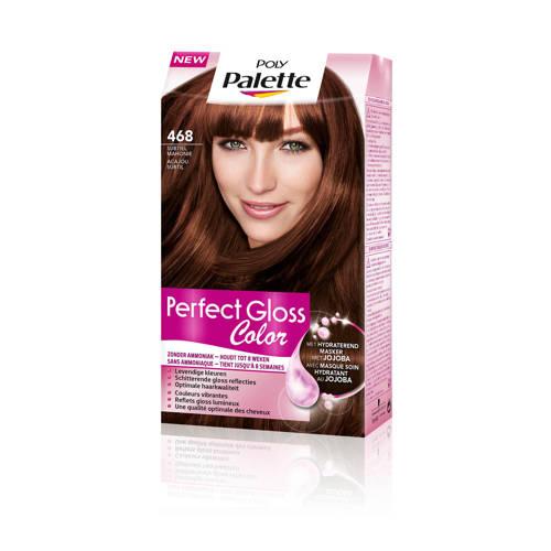 Schwarzkopf Poly Palette Perfect Gloss haarkleuring - 468 Subtiel Mahonie