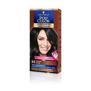 Poly Color Creme haarkleuring - 45 Zwart
