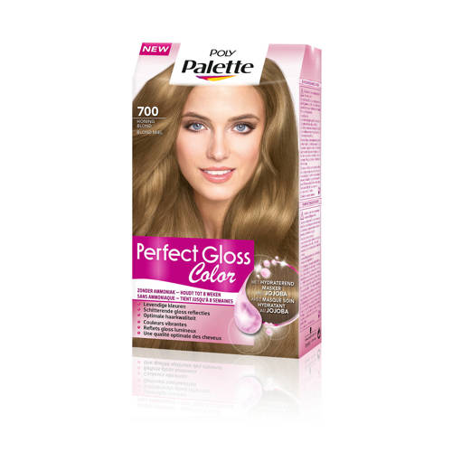 Schwarzkopf Poly Palette Perfect Gloss haarkleuring - 700 Honing Blond