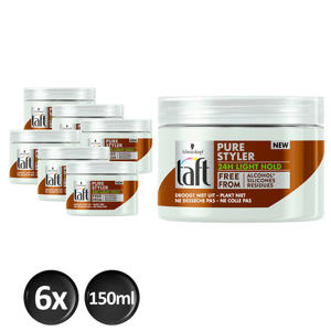 Styling Pure Styler Light Hold  - 6x 150ml multiverpakking