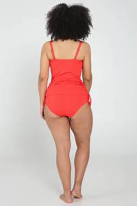 Paprika high waist bikinibroekje rood, Rood