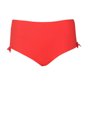 high waist bikinibroekje rood