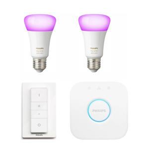 Hue White & Color Ambiance E27 Bluetooth Starterkit starter kit