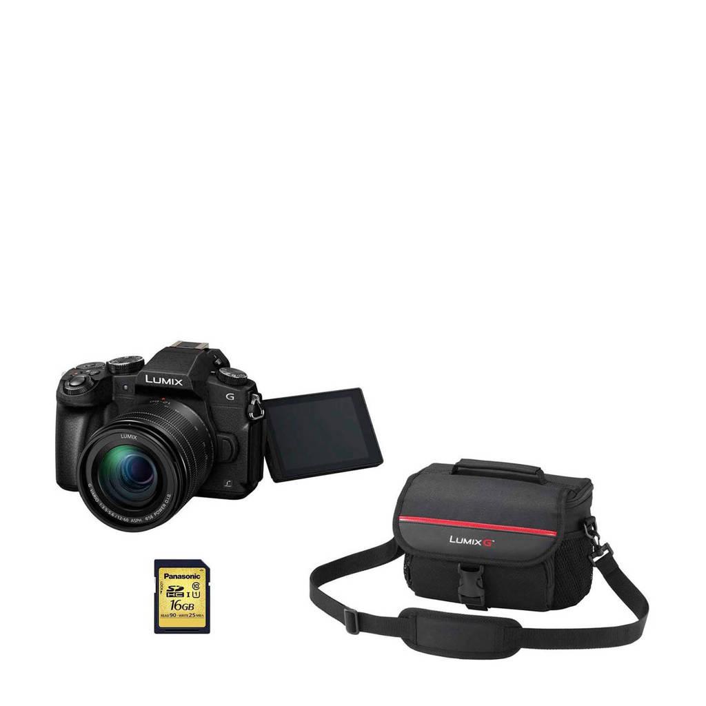 Panasonic DMC-G80 + 12-60 lens bundel systeemcamera