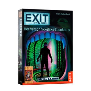 EXIT Het verschrikkelijke spookhuis denkspel