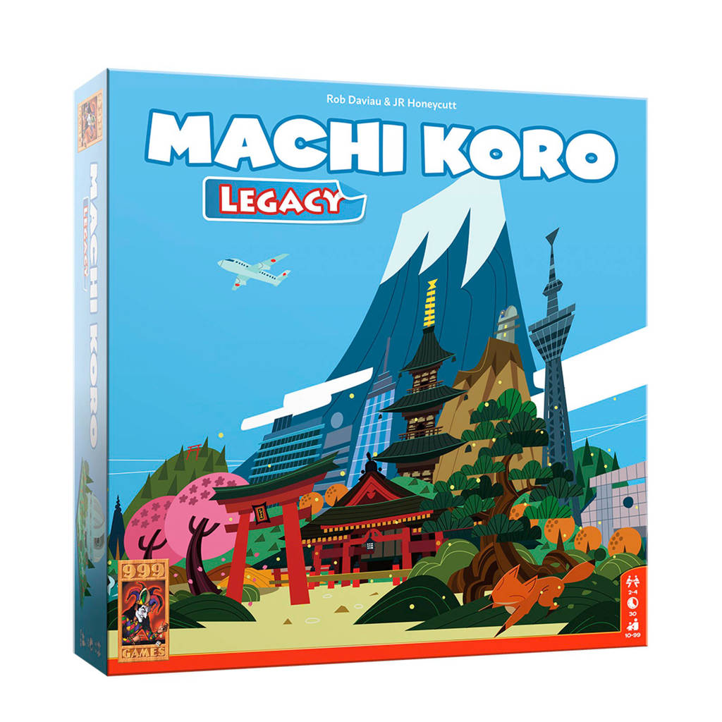 999 Games Machi Koro Legacy bordspel